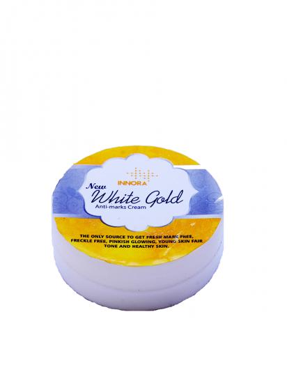 INNORA  NEW WHITE GOLD ANTI MARKS  CREAM 40GM