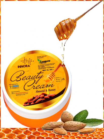 INNORA ALMOND & HONEY BEAUTY CREAM 250GM
