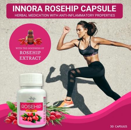 INNORA ROSEHIP 60 CAPSULE
